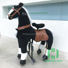 Hot selling mechanical ride on horse toy pony riding horse toy