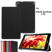 3 Fold Stand Magnetic Cover Leather Case For Asus tablet Zenpad 7.0 C Z170CG