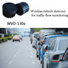 Intelligent wireless vehicle detector traffic light management sensor for traffic light control