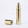 Wholesale golden color good quality 15ml cosmetic bottle