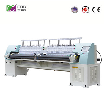 YBD164 high speed automatic high efficiency sectionalized 64 needles quilting embroidery machine china