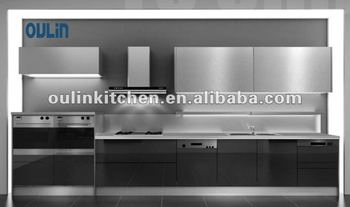 High quality european style acrylic kitchen cabinet door