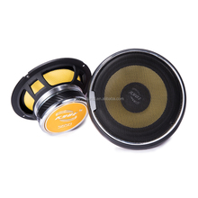 Car Component Speaker With Aluminum Tweeter And Push Terminals