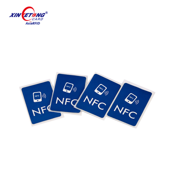 Printable NFC Sticker MF 1K Label for Library Management ISO14443A