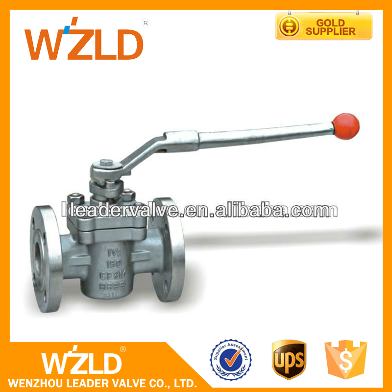 WZLD With Best Value Price Acid Water Flow Control High Pressure Ball Valve DN50