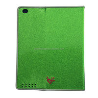 Fashion Shiny PU Tablet Case Cover Velcro Case For Ipad 2 3 4 Frame Shell non-slip For Cover Case