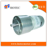 low noise 50mm diameter gearbox low speed high torque elektromotoren v24 dc motor