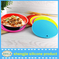 FDA food grade high temperate heat resistant round wholesale pot holders silicone