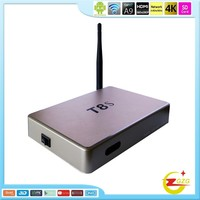 Smart Hot Sale internet T8S Amlogic S805 Android 4K TV Box IPTV Korea Digital Set Top Box