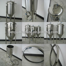 stainless steel conical beer fermenter