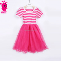 Girl party wear western dress girl party dress children frocks designs one piece party girls dresses