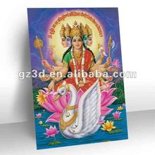 High definition Stereo PET 3d indian god pictures 3d god image (OR-021)