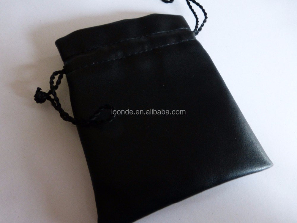High quality satin bracelet handle packaging or protector pouch bag