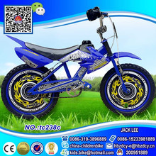 China kids moto bicycle for boys motorcycle used for South America market