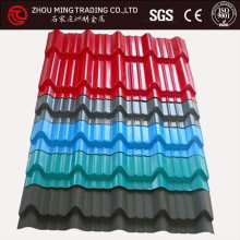 stone color coated metal roof tile