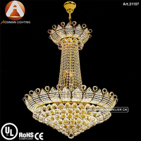 Classic Empire Crystal Chandelier