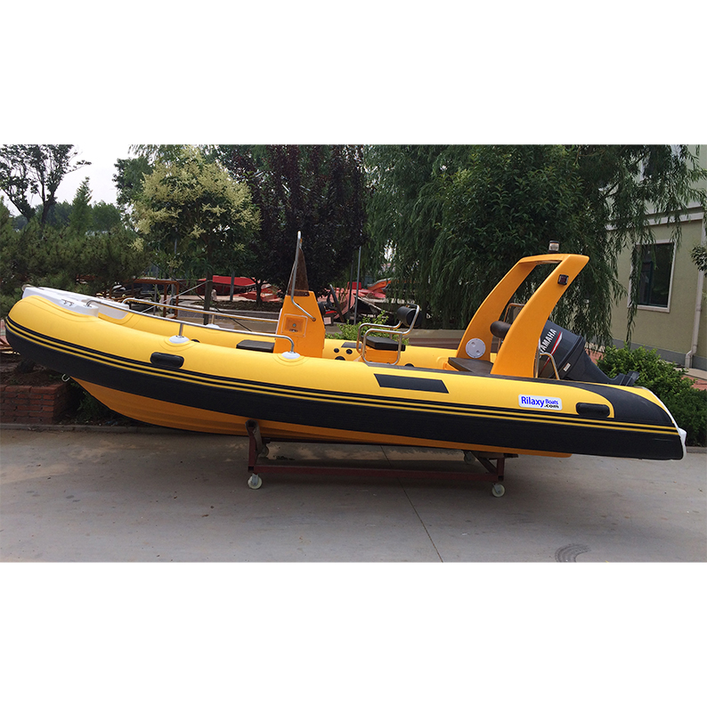 China manufacturer new 17 39 rib rigid hypalon inflatable for Inflatable fishing boats for sale