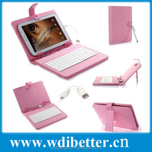 PU Leather Keyboard Cases For iPad 5/iPad Air With Stand Support Various Colors Are Available