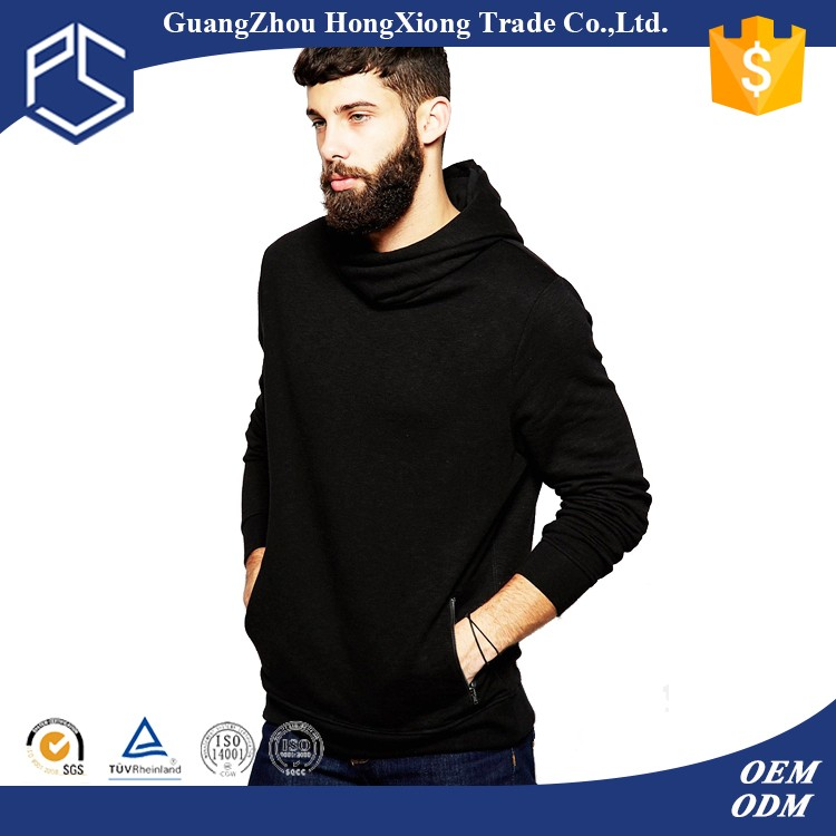 import designer mens thin side zipper hoody