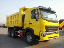 China suppliers Sinotruk howo a7 construction equipment sand carrier dump truck