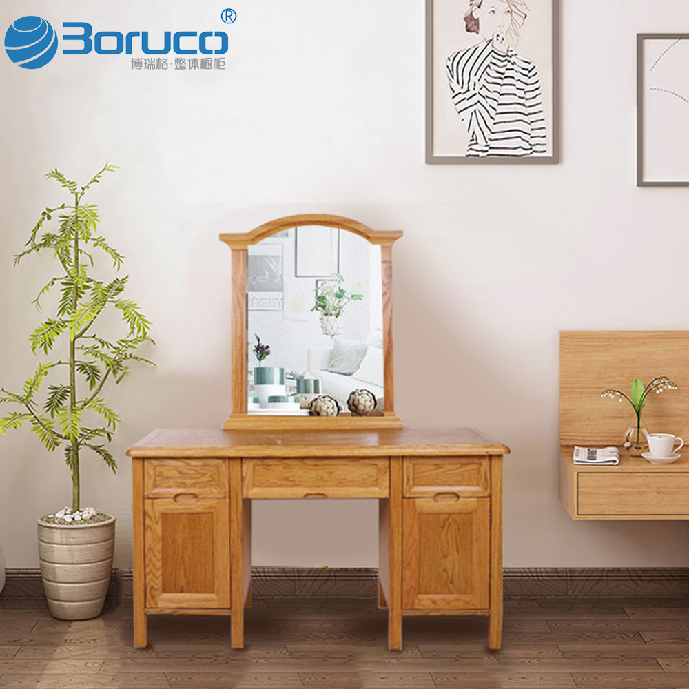 Bedroom furniture set modern wardrobe design with dressing table