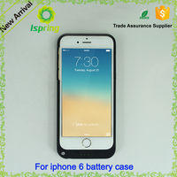 Rechargeable battery case for iphone 4 5 6 6s