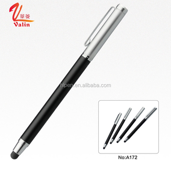 Top quality promotional engraved logo metal touch screen pen