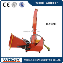 Best quality 18-50hp tractor pto wood chipper
