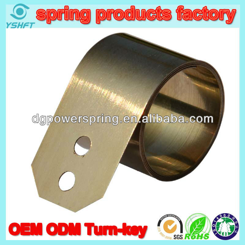 easy assemble constant torque spring light spring for home appliances move up and down spring for fans