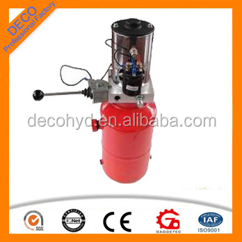 dump truck hydraulic power unit