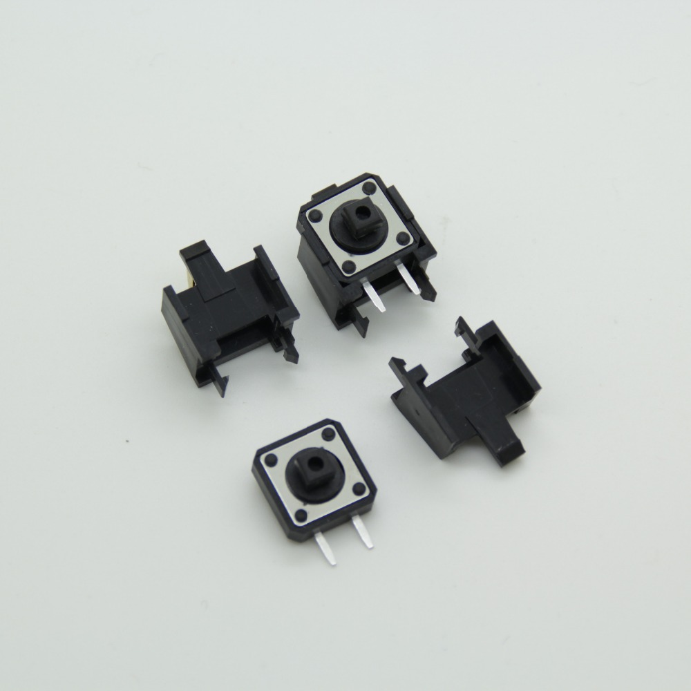 Push Button Touch Switch Momentary Tact Tactile Switch 12 x 12mm x 8mm 4 Pin DIP PCB Momentary