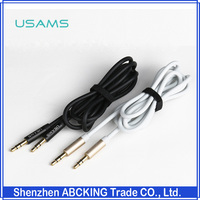 USAMS AUX Audio Line 3.5mm USAMS 3.5 mm Male To Male Plug Stereo Aux Audio Cable