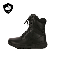 Hot sale antislip rubber sole protective design american military boots