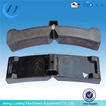 Durable bus and truck brake block, brake shoe for railway construction