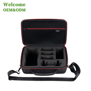 KID PU cover with EVA portable mini hard case empty waterproof tool box