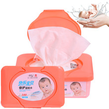 Baby Wipes With Plastic Cases cheap cleaning China Supplier Baby Wipes Warmer , Alcohol Free Baby Wet Wipe