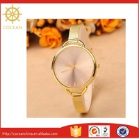 Hot sale! Quartz Stainless Steel Sublimate Fashionable Lady Watch