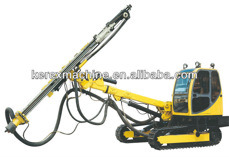 low air consumption drilling rig mud tanks HQ730C Made in China
