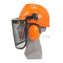 Forestry Safety Helmet with Visor and Ear Protectors