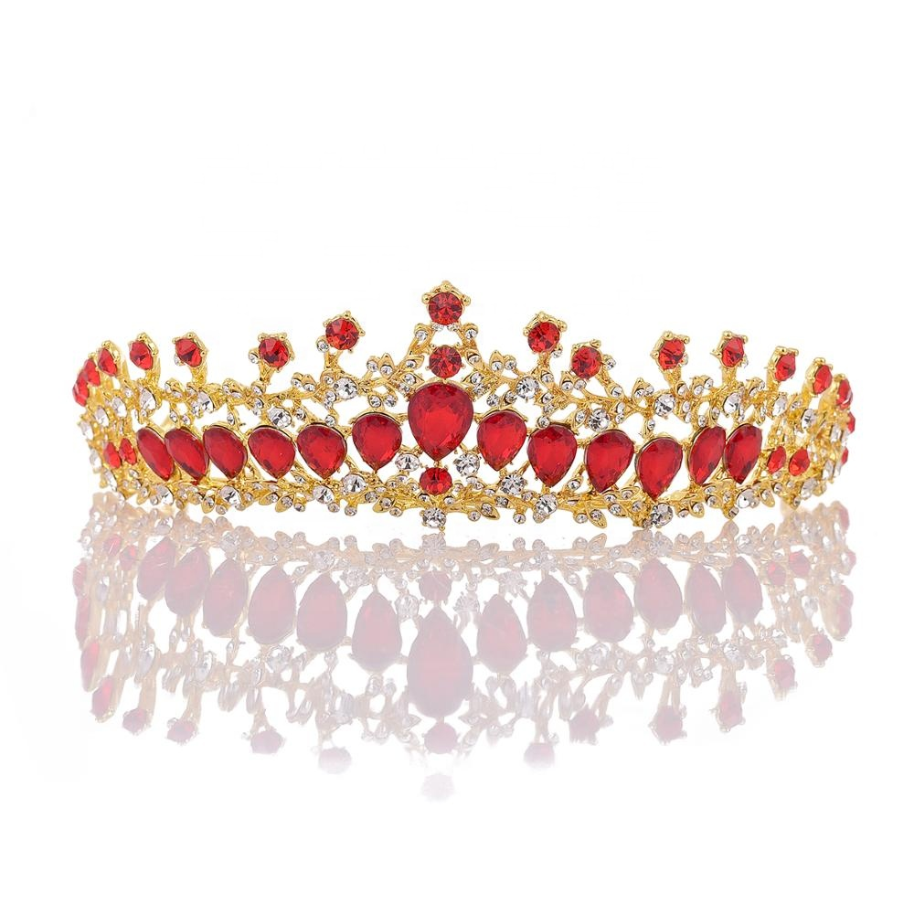 Wholesale 2019 New Wedding Gem Jewelry Products Woman Tiaras and <strong>Crowns</strong>