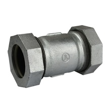 High Pressure reduce barred tee galvanised malleable iron pipe fittings