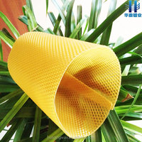 100% pure wax comb foundation for plastic bee hives