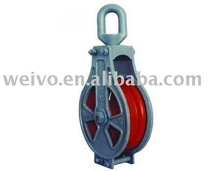 high quality enclosed trawl block with eye or hook
