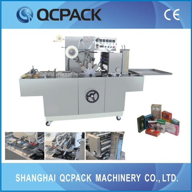 cigaratte box wrapping machine