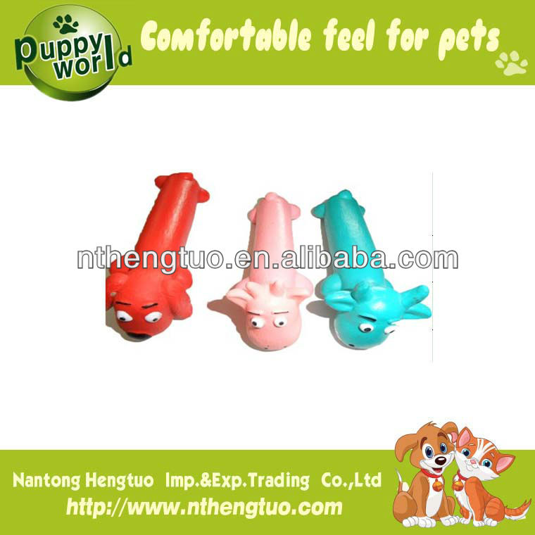 dog shaped pet latex toy,pet squeaky toy