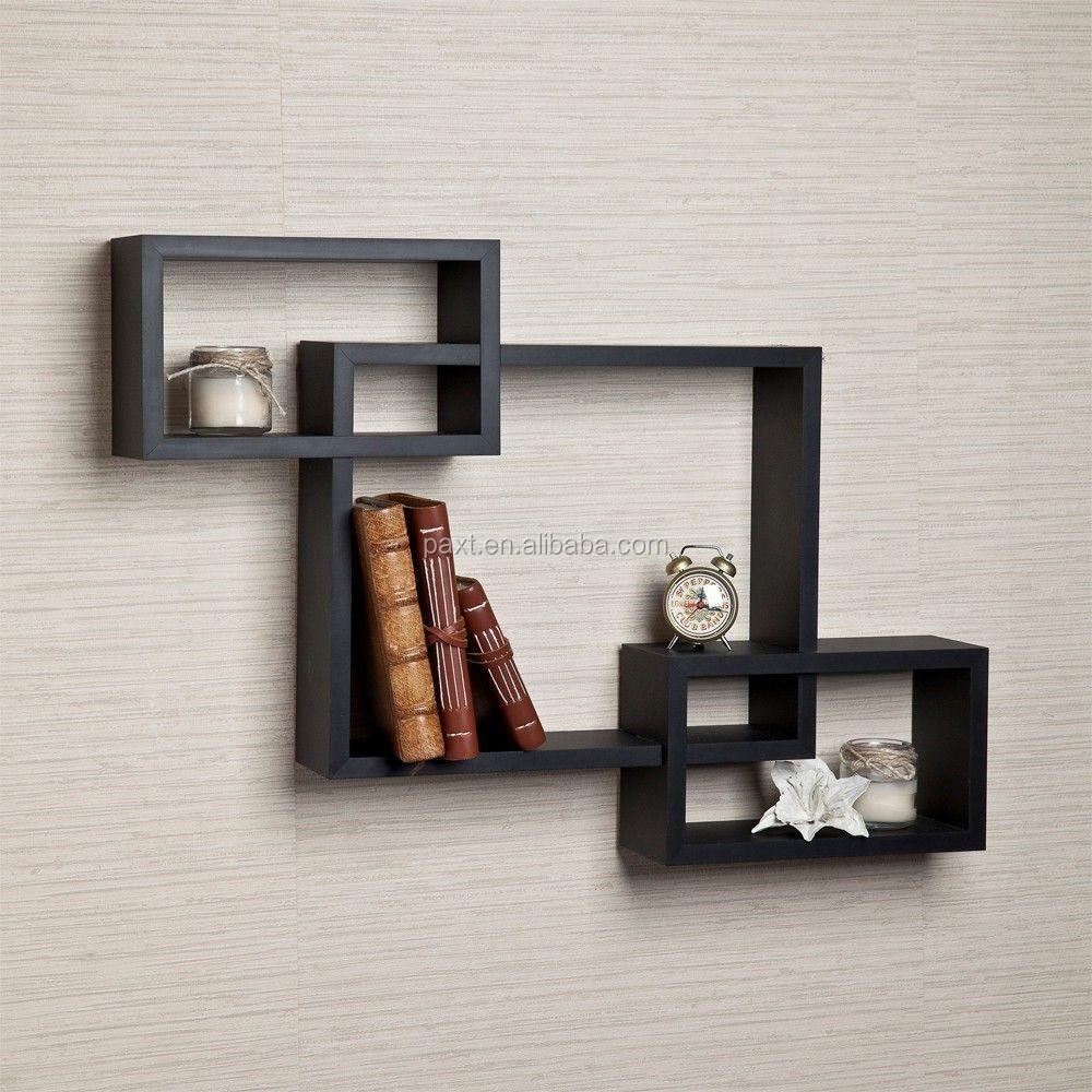 Diy Grid Storage Shelf,Unique Decorative Wooden Wall Shelf - Buy Diy ...