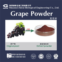 100% water soluble natural drink grape juice powder