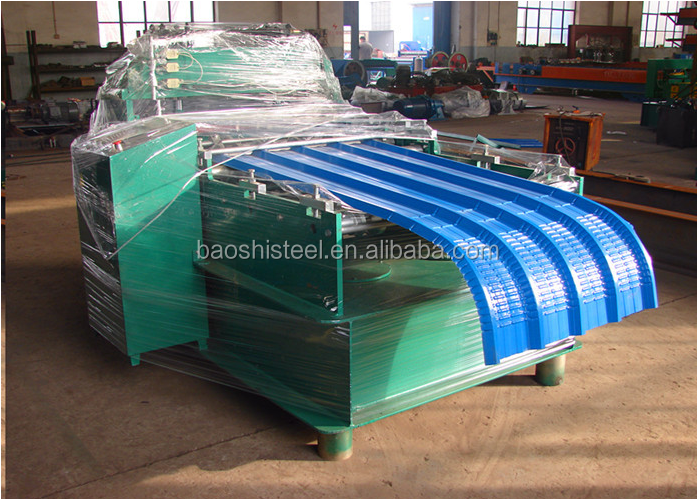 Color Coated Curved Roofing Steel Sheet Corrugated Steel Sheet
