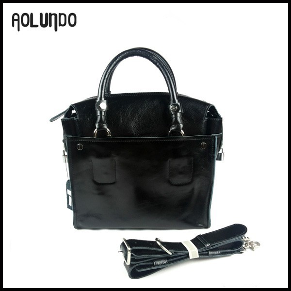 2016 fashion new latest ladies bags top black leather handbags