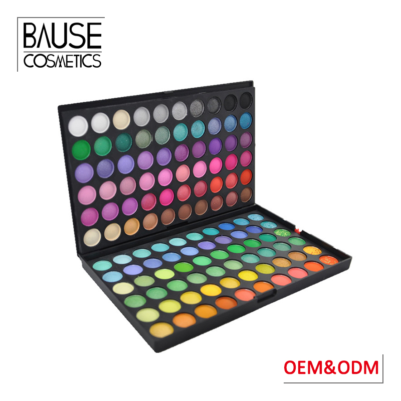 Guangzhou make up cosmetics 120 colors fashion eye shadow matte 120 color eyeshadow palette